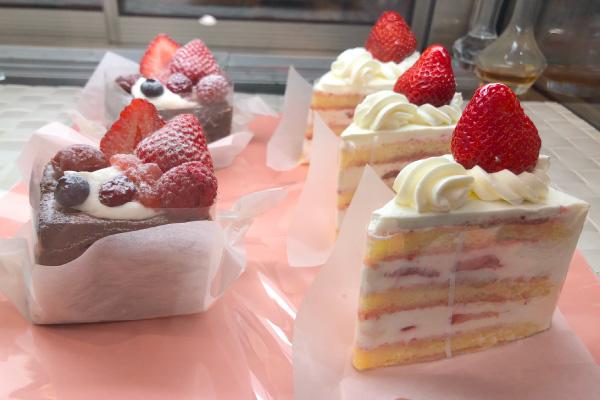 森のガトーショコラ・農家のショートケーキ